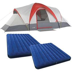 Ozark Trail Weatherbuster 9 Person Dome Tent with Two Queen