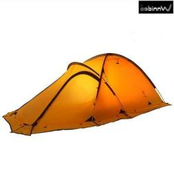 Wnnideo 2-person 20D Lightweight Backpacking Alpine Tent For