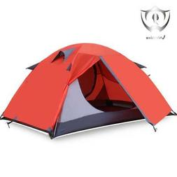 Wnnideo 2 Person Tent Camping Instant Tent Waterproof Tent B