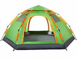 Wnnideo Instant Family Tent Automatic Pop Up Tents Camping H