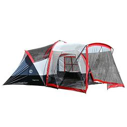 Tahoe Gear Zion 9-Person 3-Season Camping Tent And Screen Po